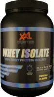 whey isolate xxl nutrition