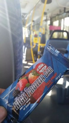High Protein Bar Red Fruit