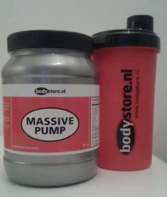 Massive Pump ervaringen Bodystore