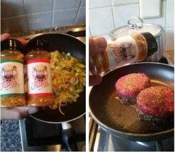 Koken met flavor king kruiden