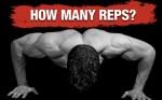 Hoeveel herhalingen moet je maken tijdens krachttraining?