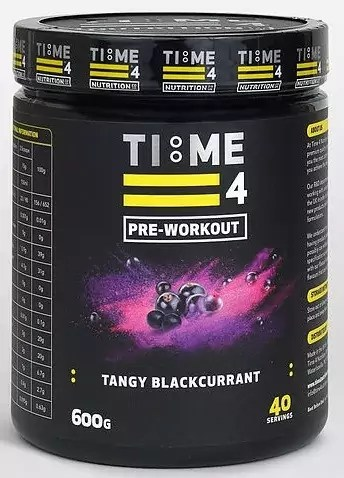 Time 4 Nutrition Pre Workout
