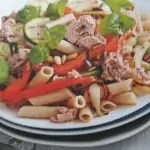 RECEPT: Gegrilde groentesalade met tonijn