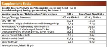 crunchy protein bars xxl