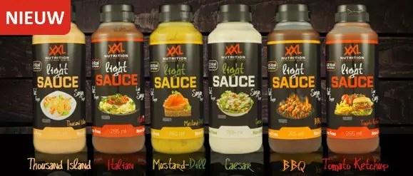 xxl nutrition light saus