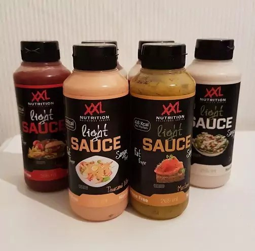 review xxl nutrition light saus
