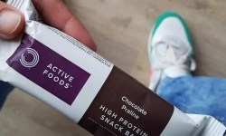 high protein snack bar review