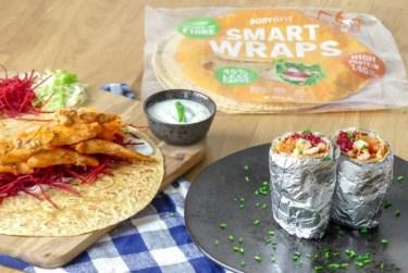 gezonde burrito kip