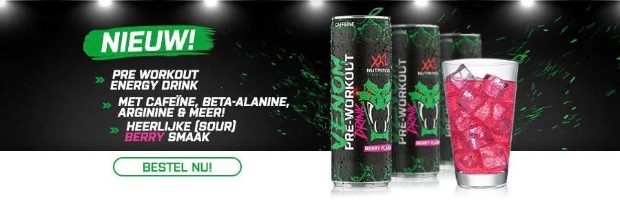 venom pre workout drink xxl nutrition