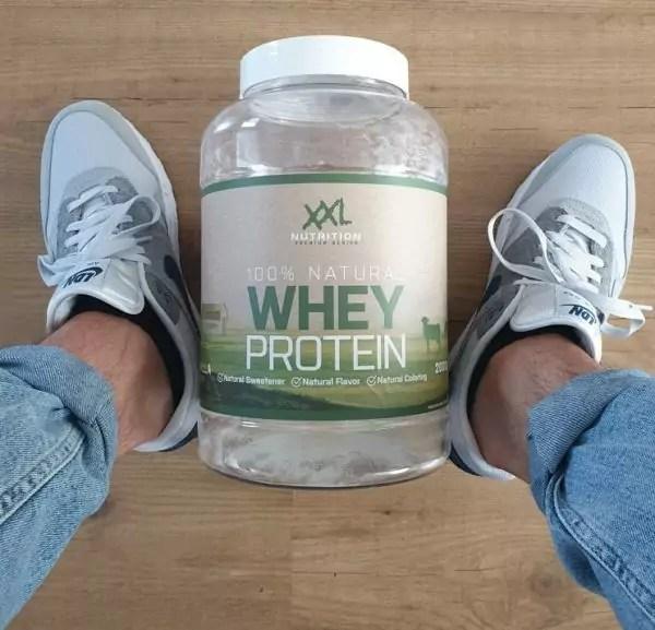 100% natural whey protein review