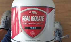 real isolate review body gymshop