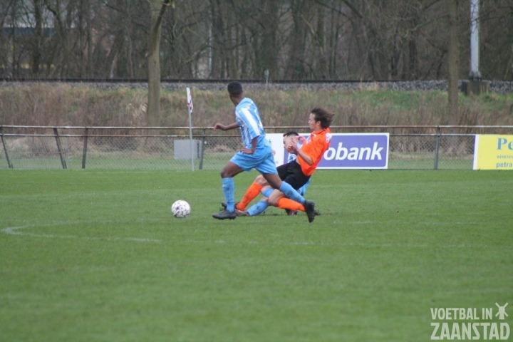 FC Zaandam klopt runner up Jong Holland met minimaal verschil