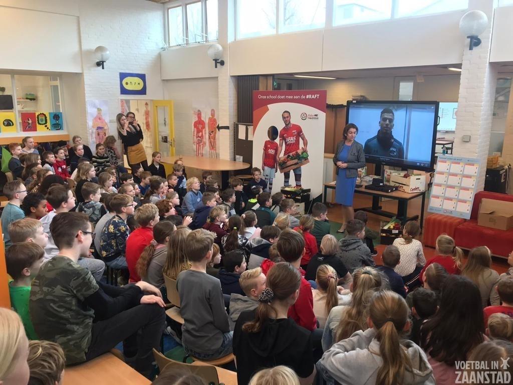 Honderd klassen starten met interactief lesprogramma Rabo AZ Foodtour