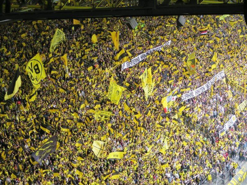 Voetbalreizen naar Duitsland, Gelbe Wand van Borussia Dortmund