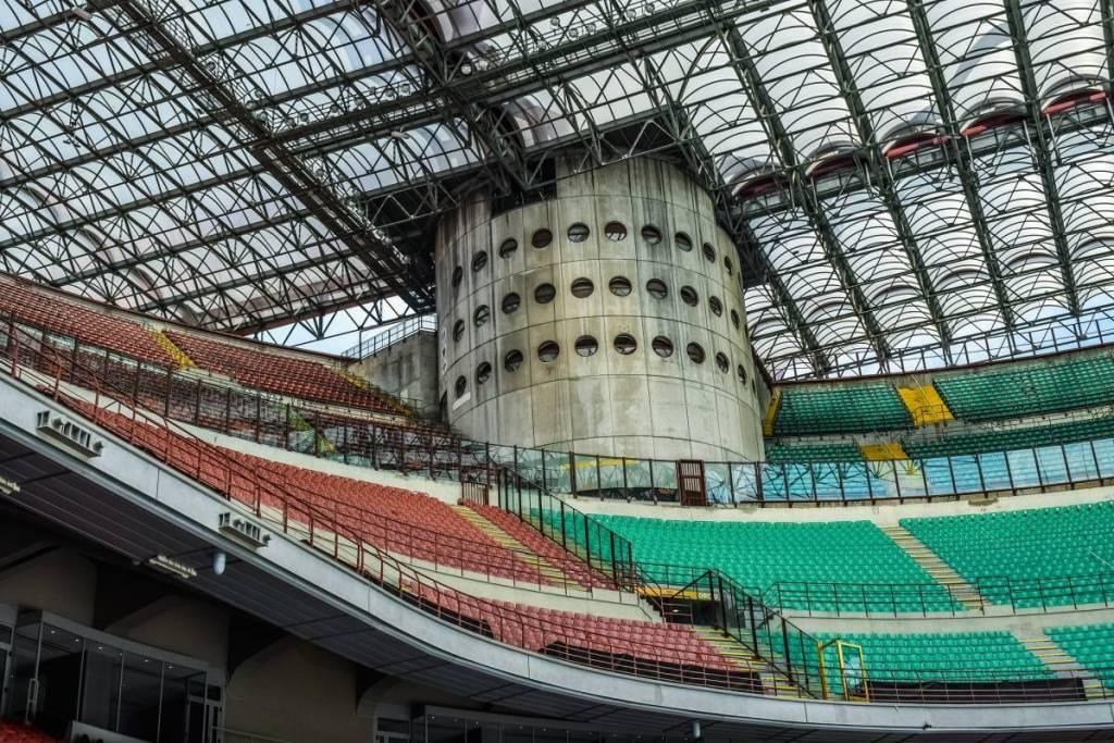 San Siro is de thuishaven van de Italiaanse voetbalderby: Derby Della Madonnina