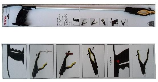 Изображение на Щипка к-т 4 в 1 с кука, магнит, обувалка модел 020