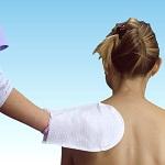 Ръкавица за сухо измиване на тяло и глава
