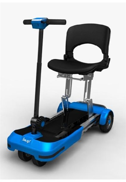 Скутер за инвалиди сгъваем мини
