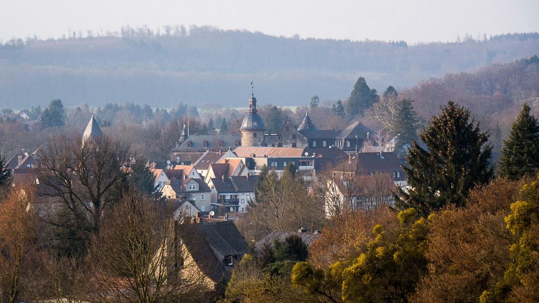 Panoramaweg Laubach - schöne Runde um die alte Residenzenstadt