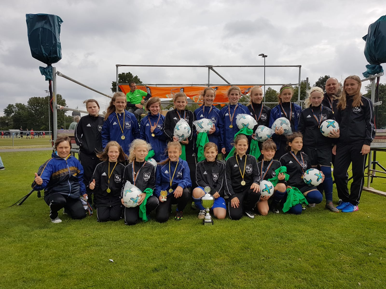 VFV Girls holen Saxony Cup