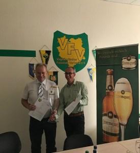 Sternquell Brauerei ab sofort neuer Namensgeber für den Vogtlandpokal der Herren und Ü 35