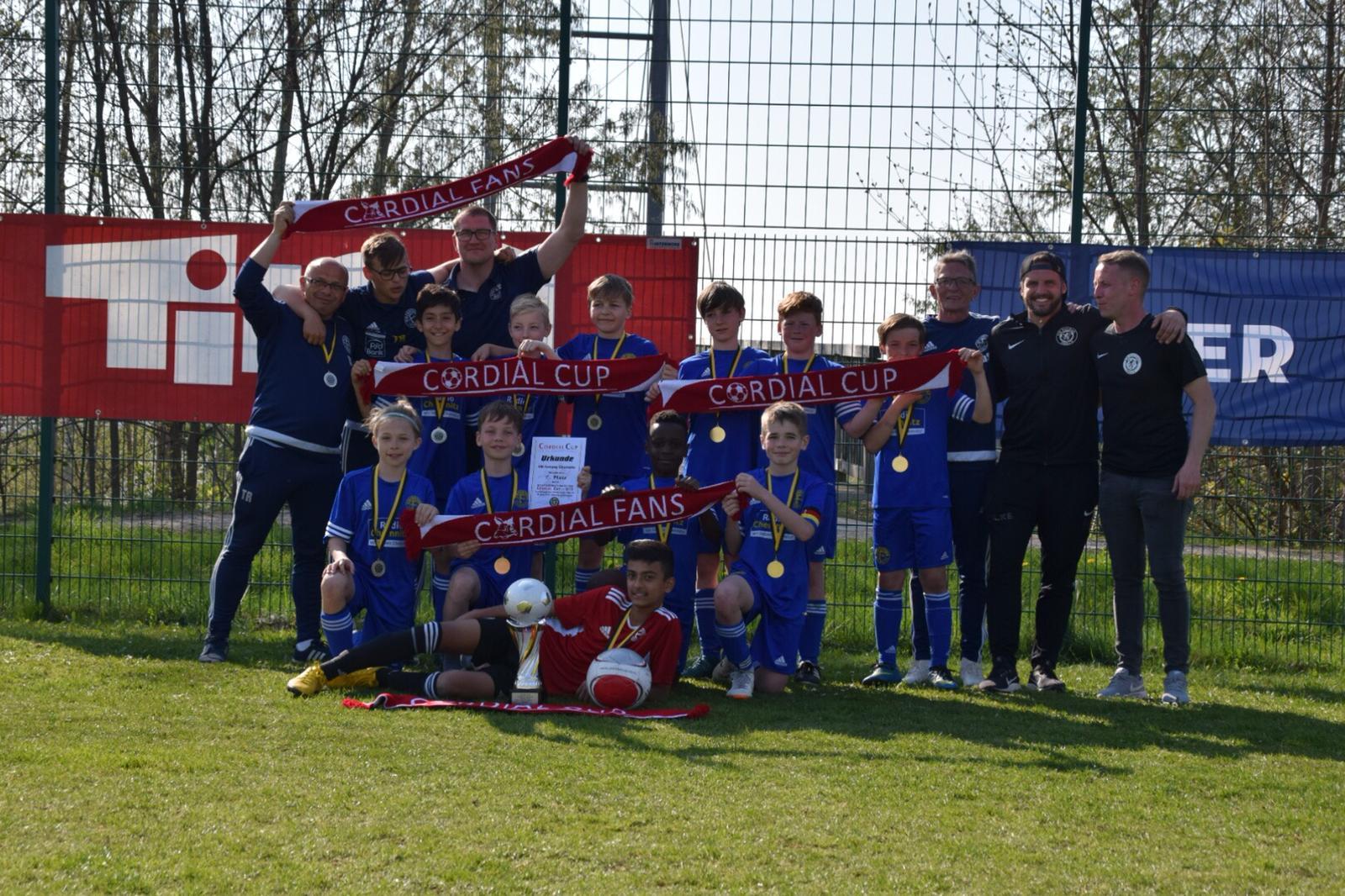 VfB Fortuna Chemnitz gewinnt Premierenturnier in Auerbach