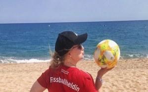 Fußballheldin Lilli Lorenz berichtet von ihrer Reise nach Spanien!