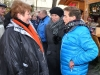 Drehteam des MDR auf dem Greizer Weihnachtsmarkt
