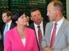 Thüringens Ministerpräsidentin Christine Lieberknecht (CDU) besucht Greizer Brauerei