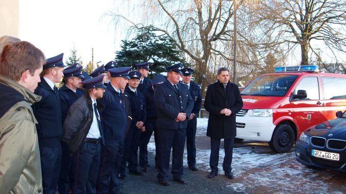 FFW Kurtschau übernahm Anbau am Feuerwehrgerätehaus