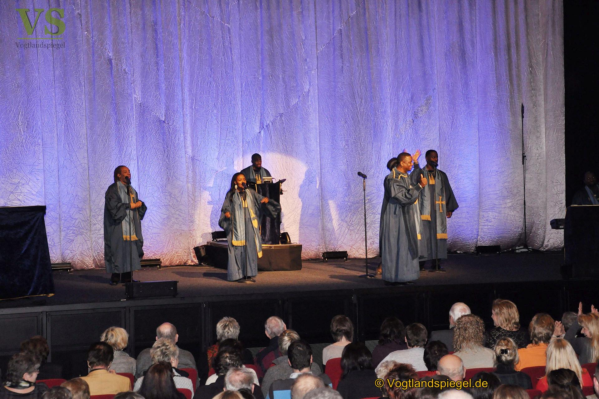 The Very Best of Black Gospel begeisterte 460 Gäste in der Vogtlandhalle Greiz