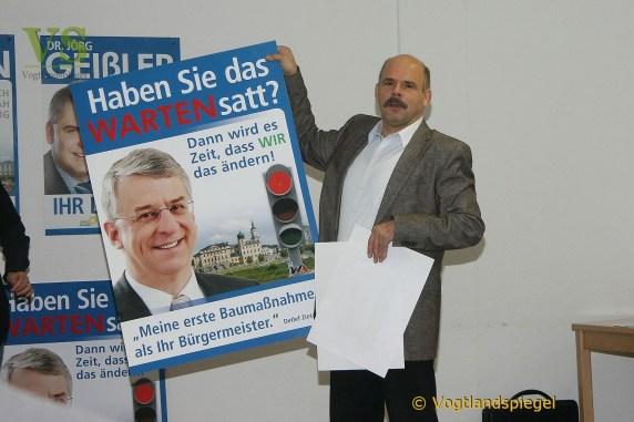 Wahlkampf der IWA offiziell eingeläutet