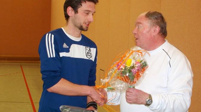 Fabian Reichmuth mit dem Ehrenamtspreis 2011 des DFB geehrt