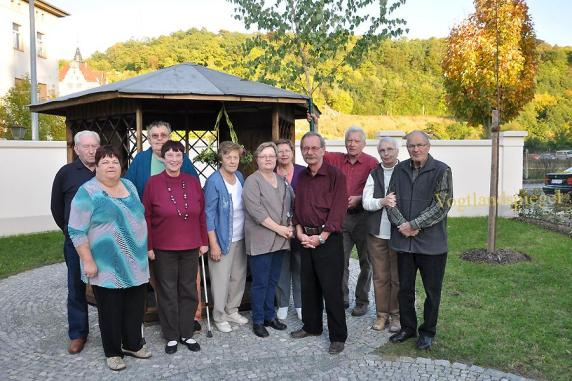 Pavillon im 55 Plus-Wohnprojekt eingeweiht