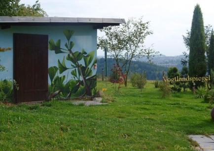 Neuer Blickfang im Greizer Ortsteil Reinsdorf