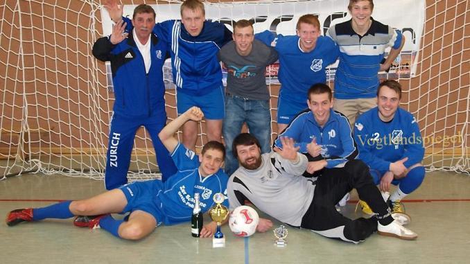 Sieger des Turniers: Der SV Blau-Weiß 90 Greiz I