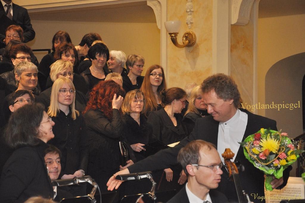 Greizer Kantatenchor und Vogtland Philharmonie führen Johannespassion
