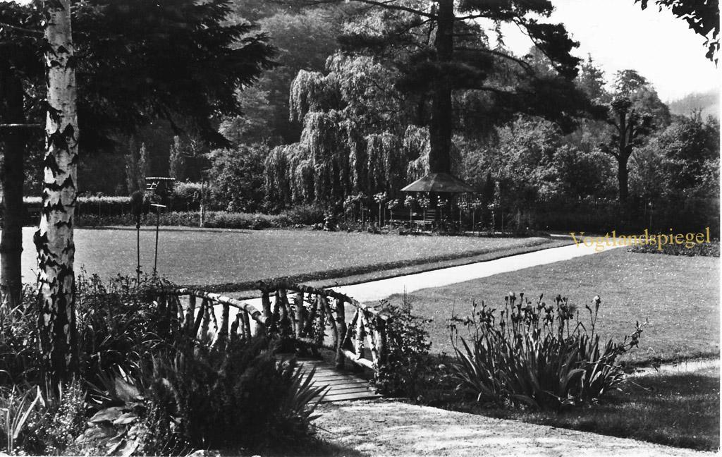 Der Rosengarten im Greizer Park