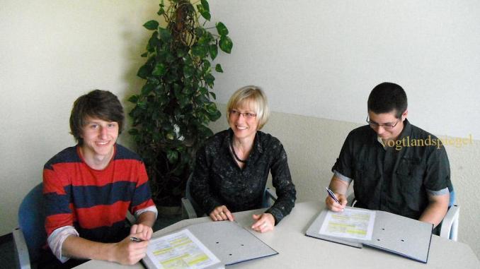 Zwei neue Lehrlinge beim Zweckverband TAWEG