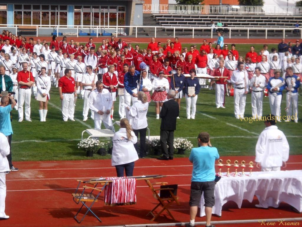 Fanfarenzug Greiz gewinnt Showpokal der Stadt Potsdam
