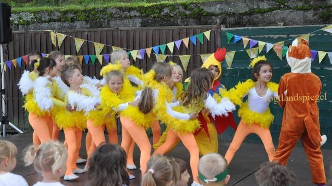"""Sommerfest im Greizer Kindergarten """"Geschwister Scholl"""""""