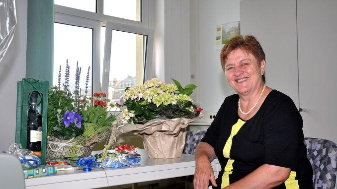Heidrun Jenennchen beging 60. Geburtstag