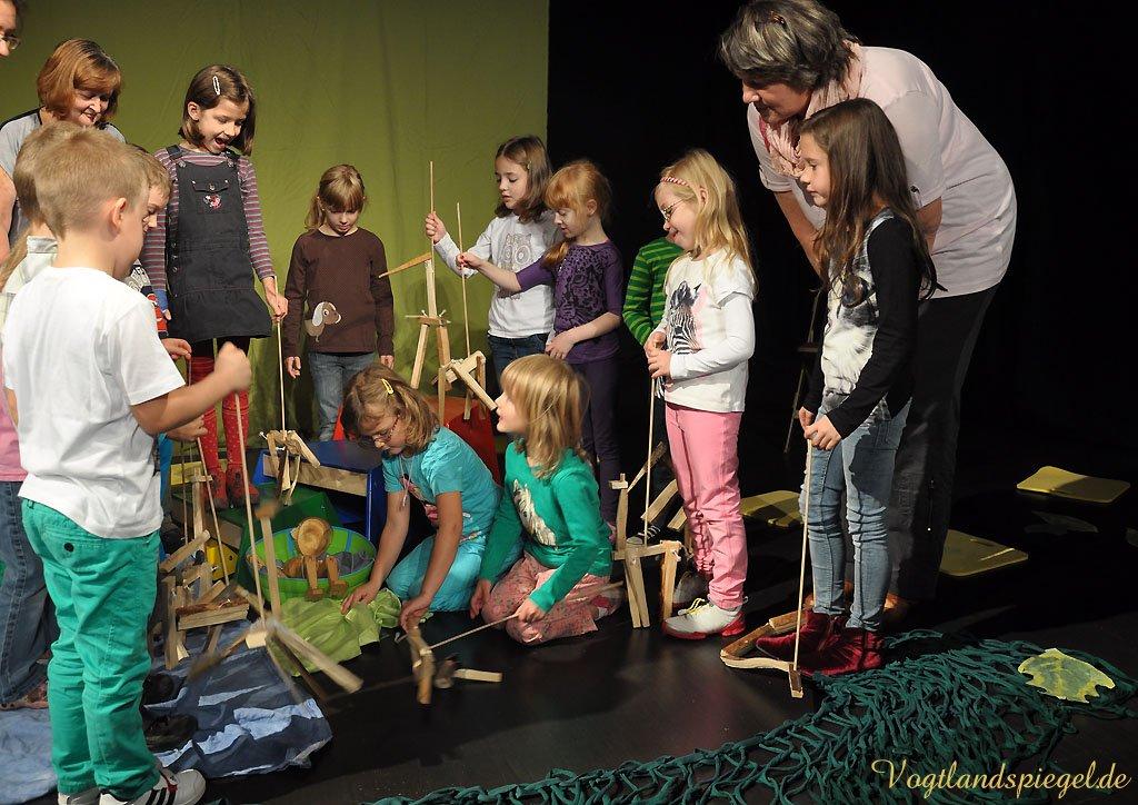 Kinderwerkstatt des Greizer Theaterherbstes entführt in den Dschungel