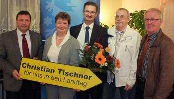Christian Tischner ist CDU-Landtagskandidat im Wahlkreis 40