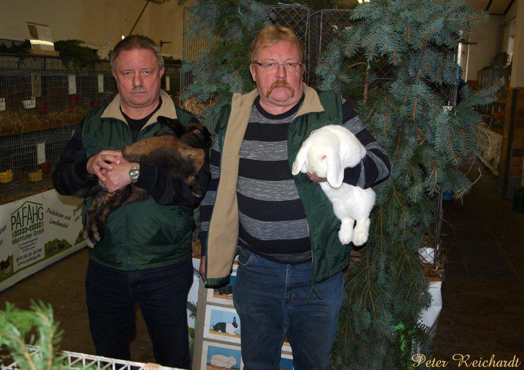 Neun Mal »Vorzüglich« bei der Kaninchenausstellung in Mohlsdorf