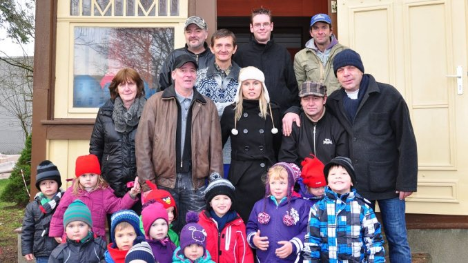 Kinder der Kita »Käte Duncker« sind nun stolze Villenbesitzer