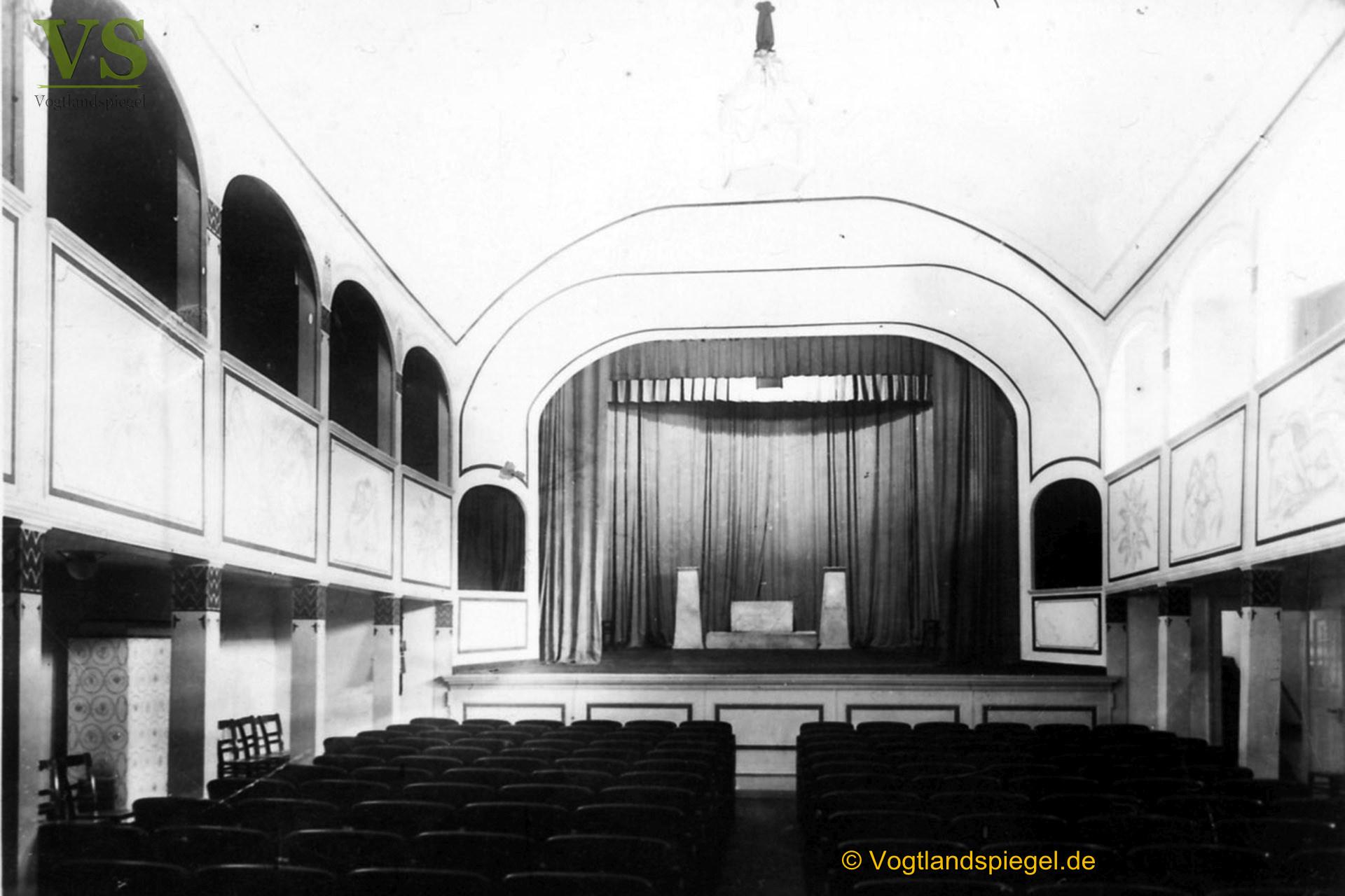 Das Parktheater - ein Stück Greizer Theatergeschichte