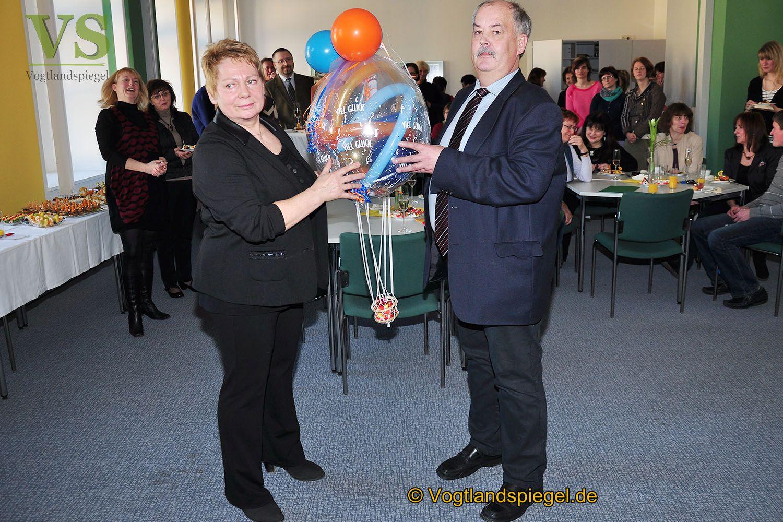 Pedra Hofmeister feierlich in den Un-Ruhestand verabschiedet