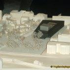 Präsentation der Modelle für den Bau der neuen Stadthalle Greiz