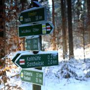Naherholungszentrum Waldhaus im Winter